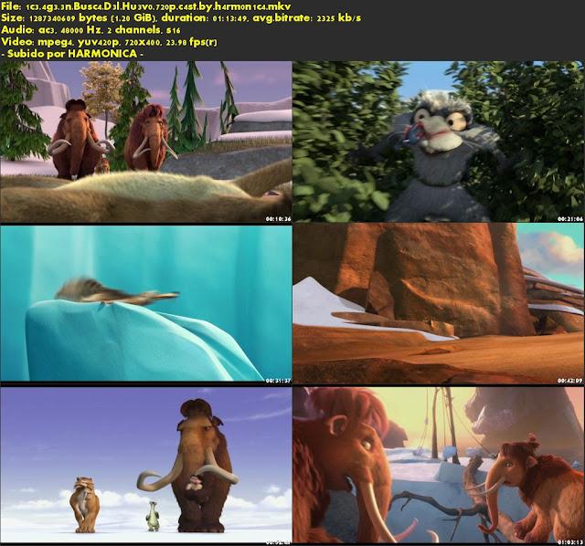 Descargar Ice Age: En busca del huevo Castellano por MEGA.