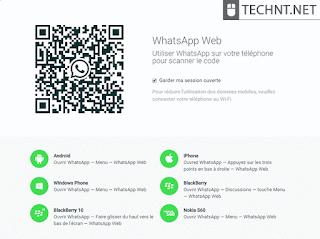 بالصور... شرح إرسال وإستقبال رسائل وصور الواتساب على جهاز الكمبيوتر - التقنية نت - technt.net