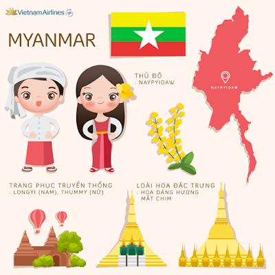 Vietnam Airlines khai thác nhà ga mới tại sân bay Yangon - Myanmar