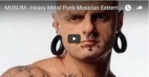 VIDEO: Mantan Punk Bertato Ini Temukan Hidayah Islam Dalam Surat Al Ikhlas, Lihat Perubahannya