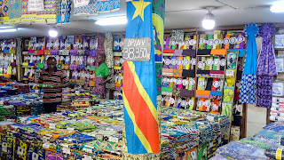 Bad quality material for is the best what poor people can buy in the DRC