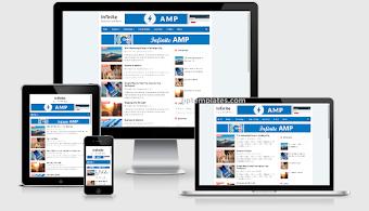 Infinite AMP Blogger Template