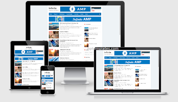 Infinite AMP Blogger Template