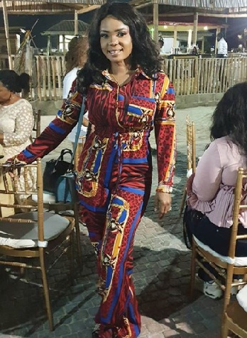 Iyabo ojo in jumpsuit  fashion styles