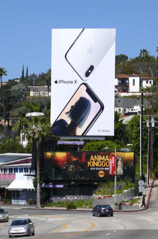 Apple iPhone X Summer 2018 billboard
