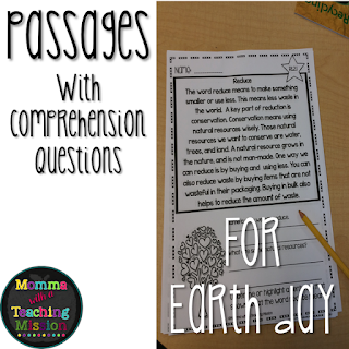 https://www.teacherspayteachers.com/Product/Earth-Day-No-Prep-Printables-Non-fiction-Passages-1750708