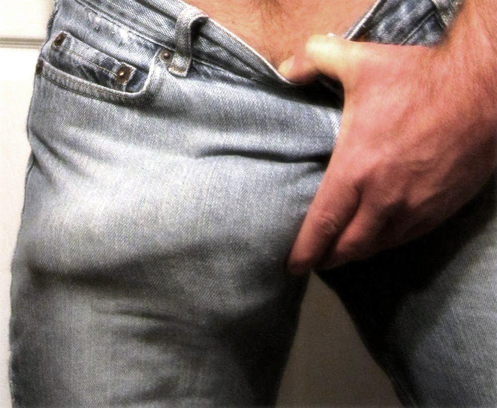 Pau marcado no jeans 1