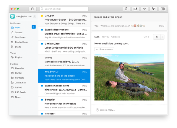 N1 - Best Mail Client for Linux, Thunderbird Alternative
