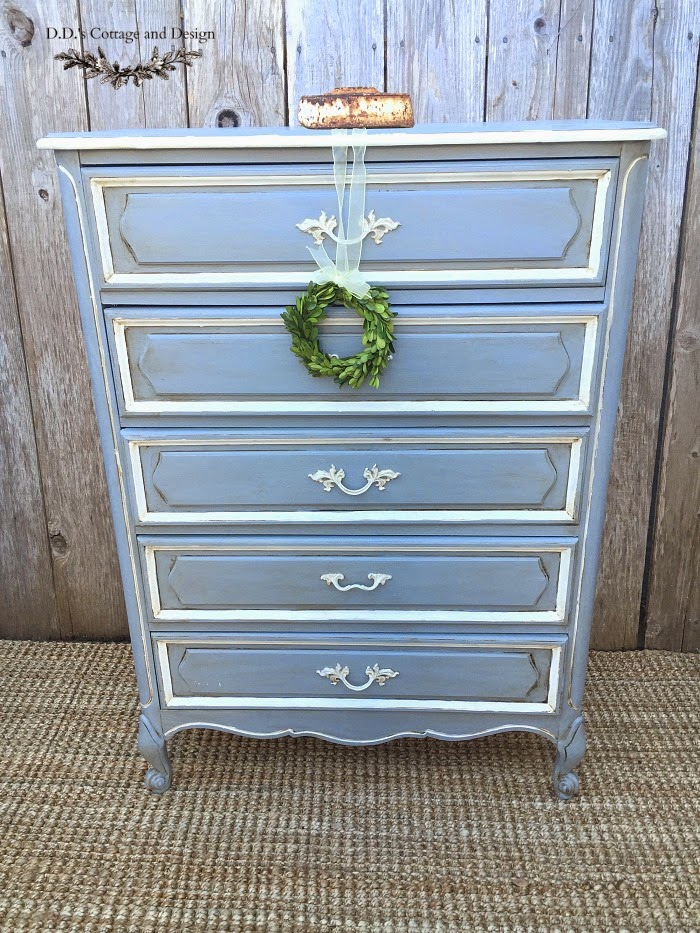 D.D.'s Cottage French Provincial Dresser-Treasure Hunt Thursday- From My Front Porch To Yours