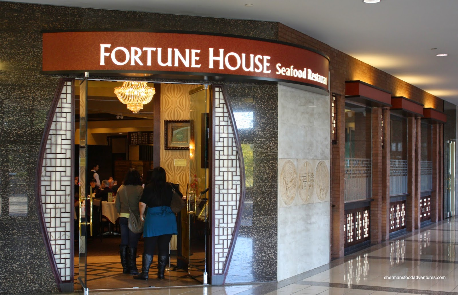 Sherman's Food Adventures: Fortune House Seafood Restaurant