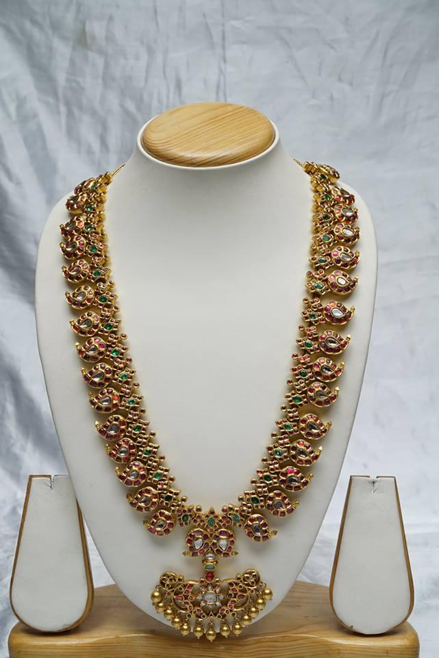 Mango Mala Mughal Style Jewellery Designs