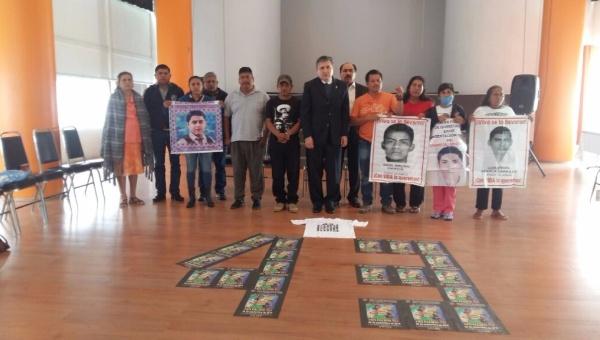 CNDH exige al Gobierno de México llegar a la verdad por caso Ayotzinapa