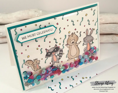 Stampin'Up! We must celebrate, blends