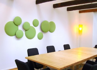 diseño de espacios muy creativos sala de juntas
