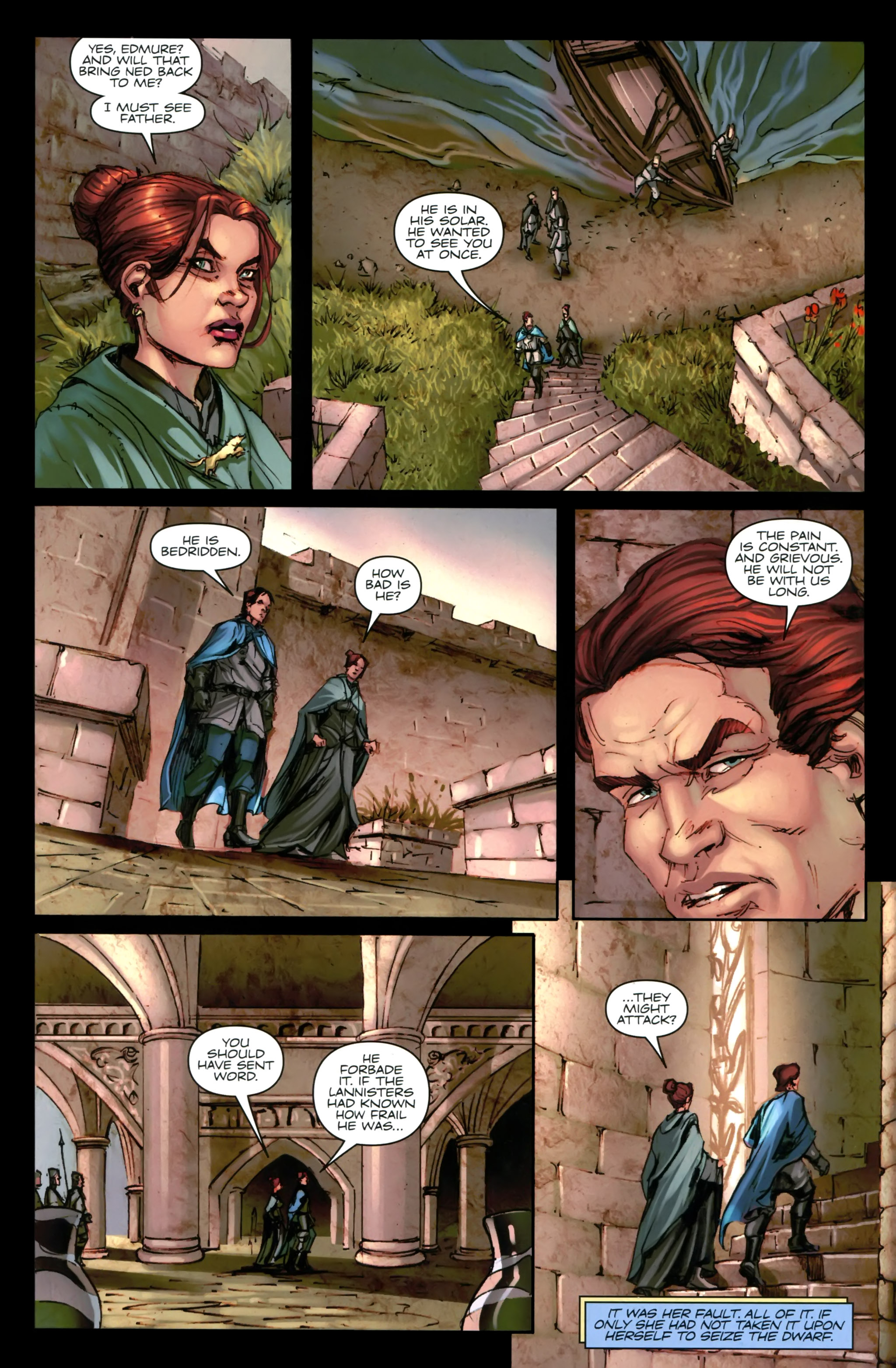 Read online A Game Of Thrones comic -  Issue #24 - 14