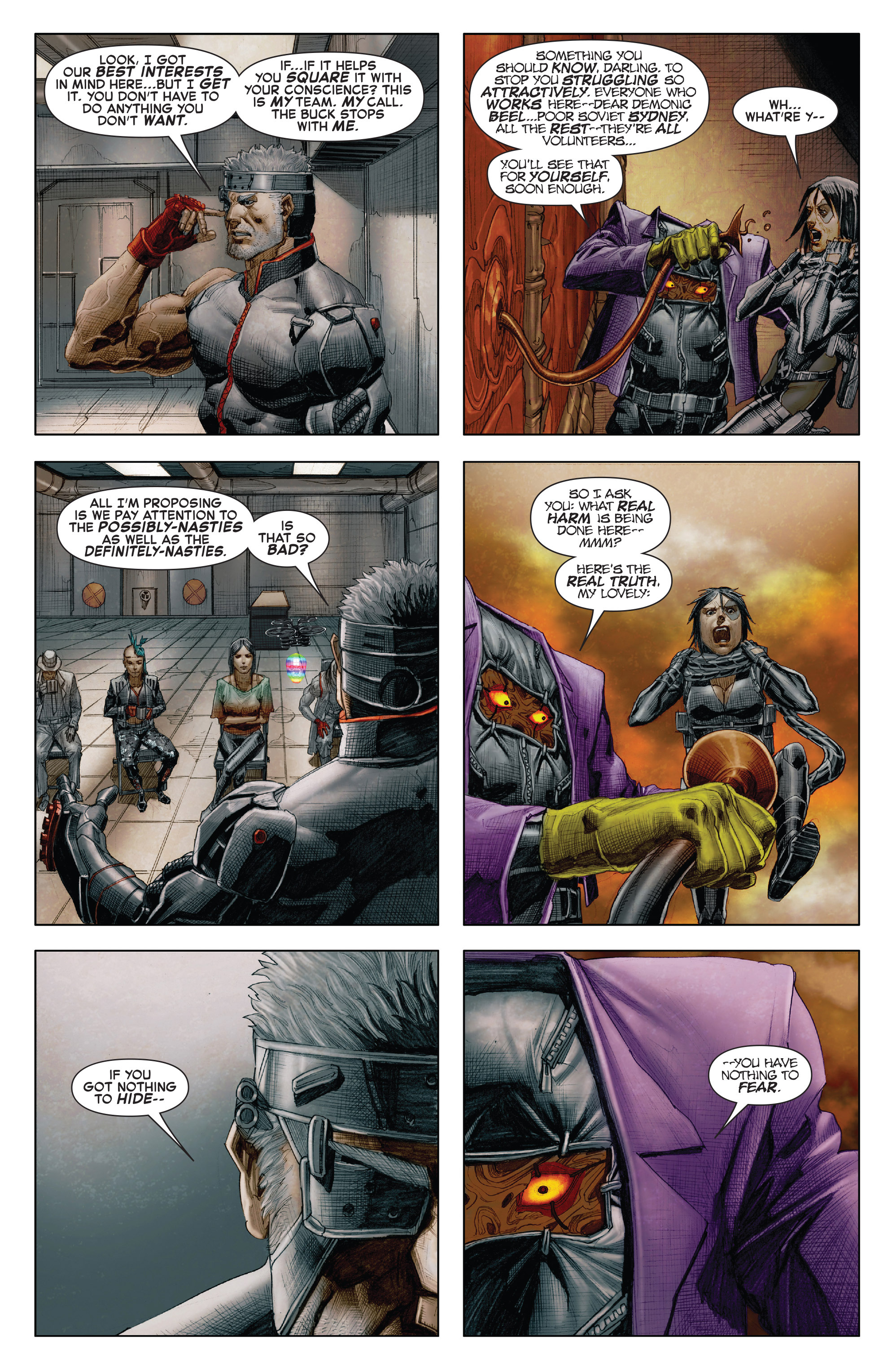 Read online X-Force (2014) comic -  Issue #7 - 17
