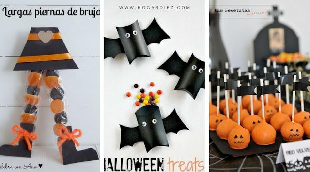 15 maneras originales de repartir tus caramelos de Halloween.