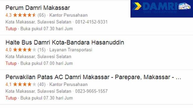 Nomor Telepon Damri Makassar Lengkap