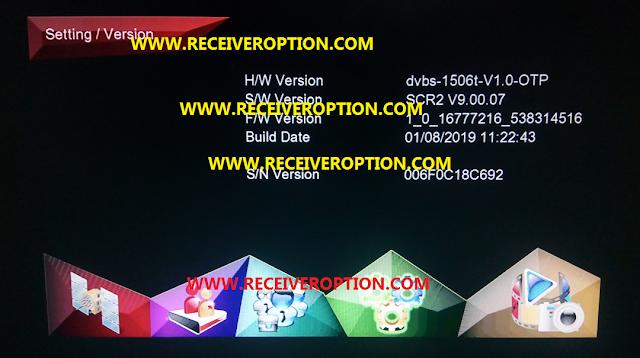 SAT CRUISER 777 HD RECEIVER POWERVU KEY SOFTWARE NEW UPDATE