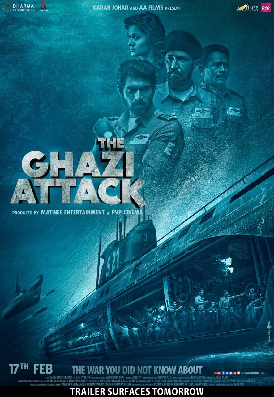The Ghazi Attack (2017) Hindi Movie Download In 300MB
