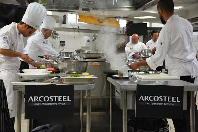 תחרות אליפות ישראל לשפים Israeli chefs championship 2018