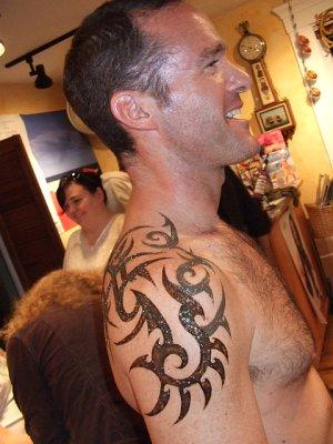 Tribal Henna Tattoo