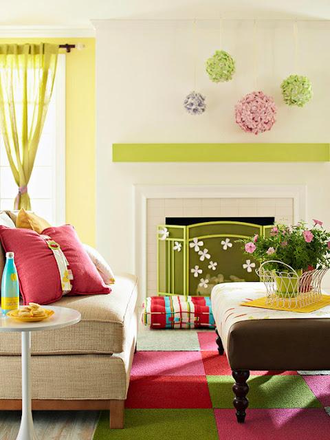 Modern Furniture: 2013 Spring Living Room Decorating Ideas