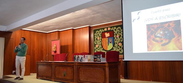 Visita del escritor Miguel Ángel Jordán al Col·legi Turó ( Constantí )