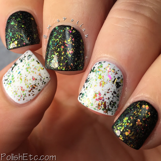 Top Shelf Lacquer - Holiday Flake Out Collection - McPolish - Happy Elf