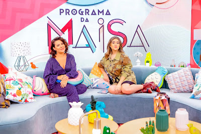 Fernanda Souza e Maisa Silva - Crédito: Gabriel Cardoso/SBT
