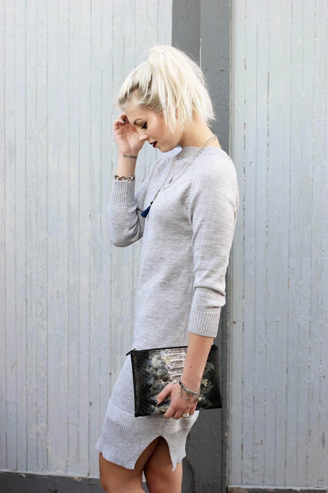 wool dress, midi dress