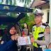 Brosur Millennial Road Safety Festival Dibagikan Polres Batola