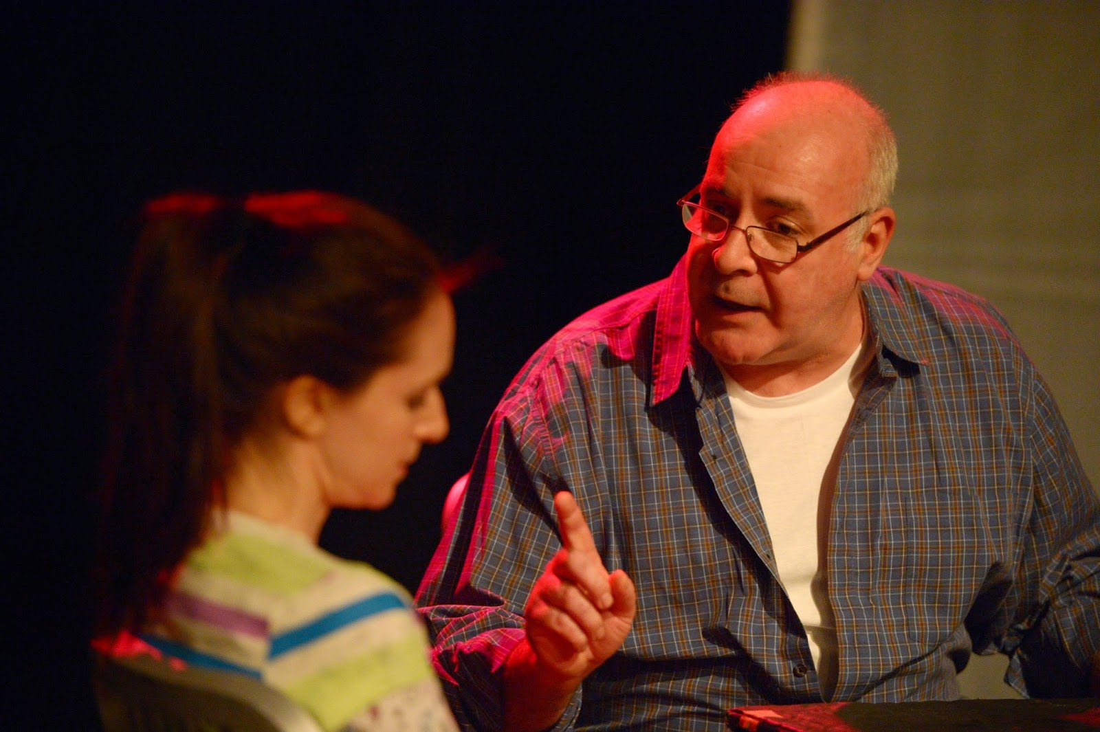 com the blood brothers present bedlam nightmares playwright mariah maccarthy meets that challenge the extremely disturbing and surprisingly gore daddy s girl all george tom reid wants to