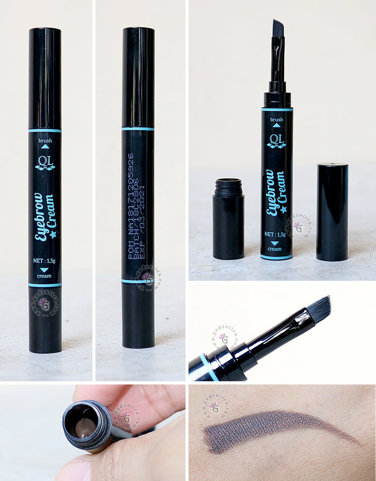 QL Cosmetic Eyebrow Cream Review