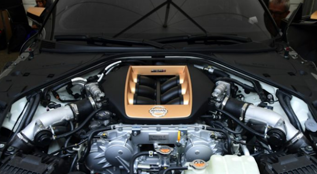 2020 Nissan GT-R50 engine