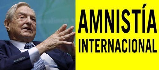 Resultado de imagen para amnistía internacional con george soros