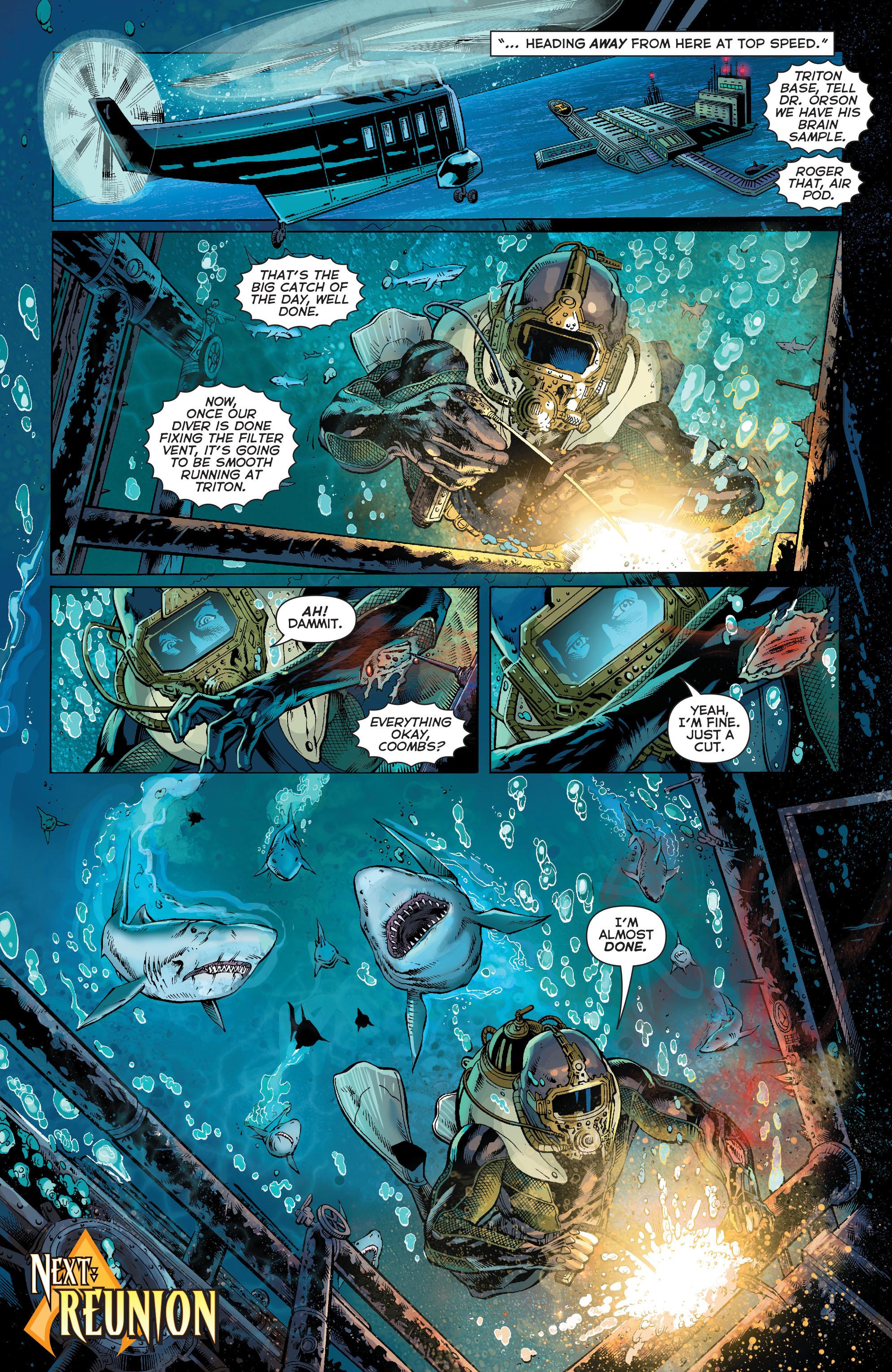 Read online Aquaman (2011) comic -  Issue #27 - 21