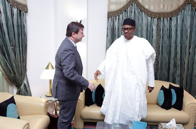 PRESIDENT BUHARI RECEIVES BRITISH HC 1B - About Us