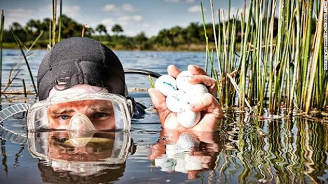 golf topu dalgıçlığı hakkında