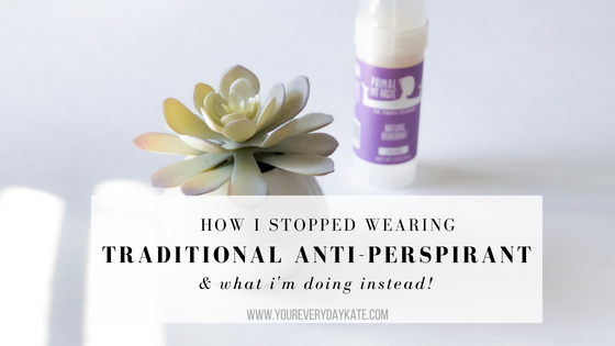 deodorant antiperspirant natural clean