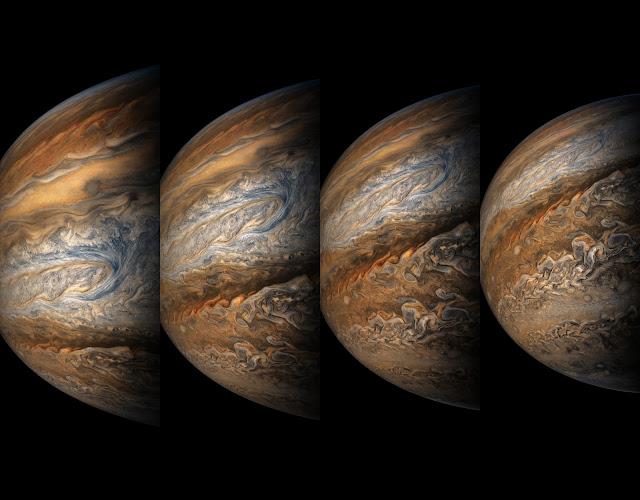 Jupiter seen by NASA's Juno spacecraft