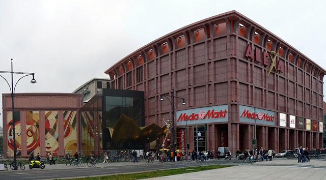 Alexa Shopping Center em Berlim