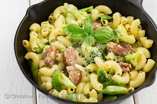 西班牙腸西蘭花芝士通粉 Broccoli, Chorizo and Cheese Macaroni02