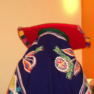 Acllia Preparando os Pratos, no Restaurante El Mesón de Don Tomás, em Cusco