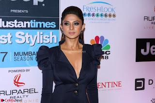 Jennifer Winget at the Red Carpet of Hindustan Times Most Stylish Awards 2017 on March 24, 2017 in Mumbai 3.JPG
