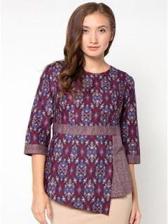 baju batik wanita modern dress