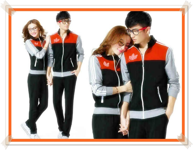 jaket couple pasangan