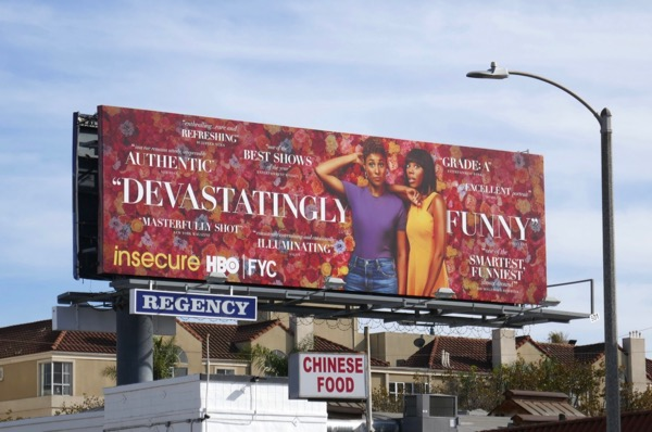 Insecure season 3 For your consideration billboard