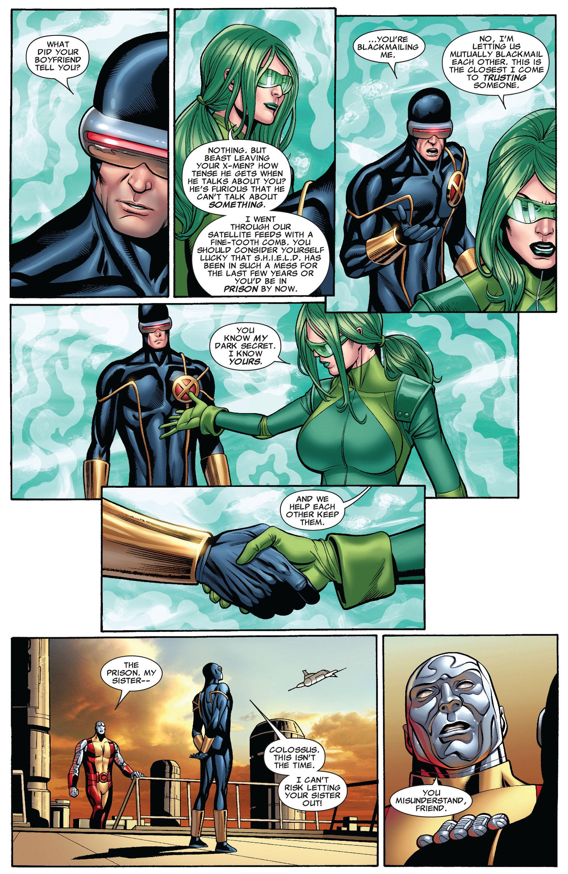 Read online Uncanny X-Men (2012) comic -  Issue #10 - 18