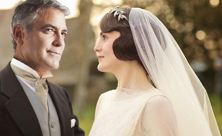 George Clooney şi Amal Alamuddin la nunta lor din 29 septembrie 2014 - sursă foto: www.famously.com